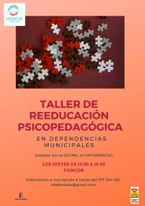taller reeducación psicopedagógica yuncos